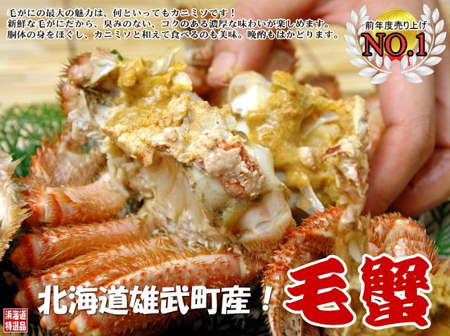 雄武毛ガニ通販浜海道640-2
