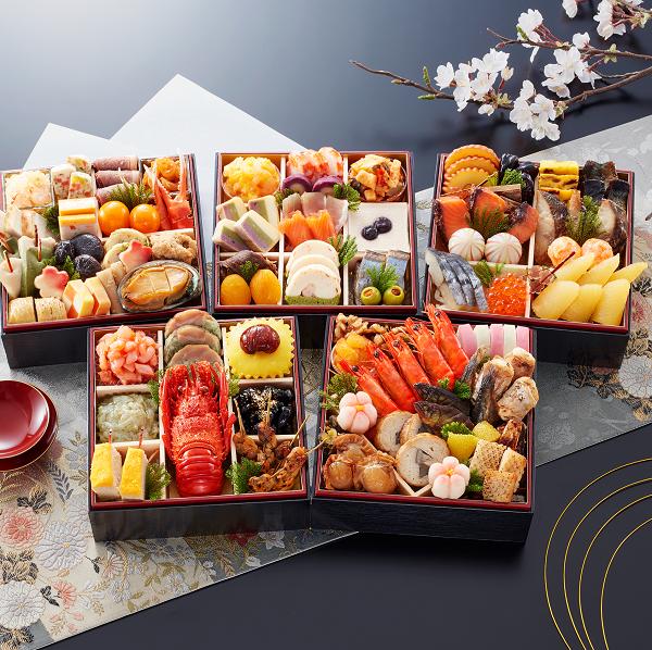 普茶料理おせち、京都宇治京楽膳おせち「萬」萬華鏡600-1
