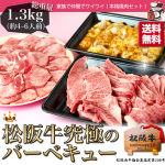 松阪牛バーベキユー肉セット