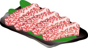 肉通販イラスト人気おすすめランキング。松阪牛、神戸牛、近江牛、飛騨牛、米沢牛、熊本馬肉、通販